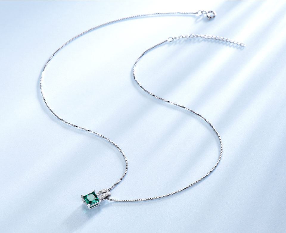 UMCHO-Emerald-silver-sterling-jewelry set-for-women-S005E-1 (6)