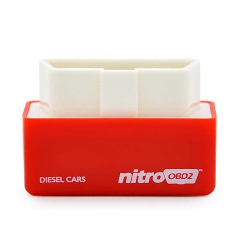 La boîte de réglage de puce de Performance d'entraînement allument le OBD-II Nitro branchent l'ecu de voiture pour augmenter la voiture de représentation