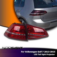 NOVSIGHT 2 шт. Автомобильный свет фары лампы светодио дный светодиодные DRL Поворотная сигнальная лампа набор для Volkswagen Golf 7 2013 2015