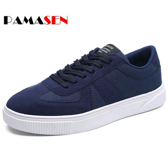 2017 Spring Autumn Breathable Men Casual Shoes Lace Up Mens Trainers Flat Walking Shoes Sport Comfortable Zapatillas Hombre