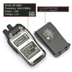 Image 5 - 4 Stks/partij Baofeng Walkie Talkie Usb Charge Adapter BF 888S Uhf 400 470Mhz 2 Weg Radio 16CH Lange bereik Met Baofeng Oortelefoon
