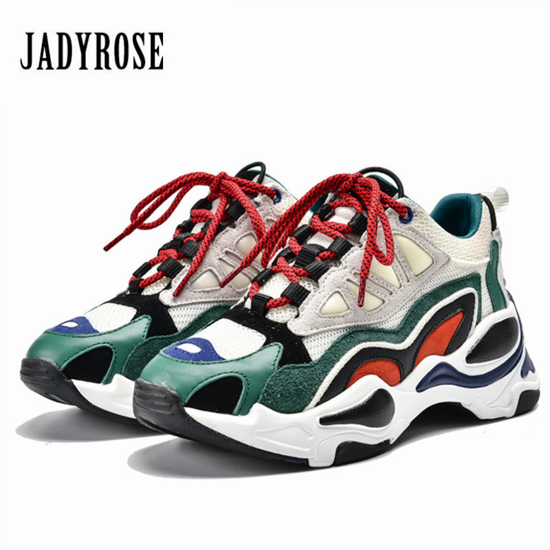 Dames Plate Chaussures Femme Patchwork Creepers Formateurs Jady Sneakers Appartements Pour Rose forme Décontracté Plates Espadrilles vert Femmes Marron znBZq