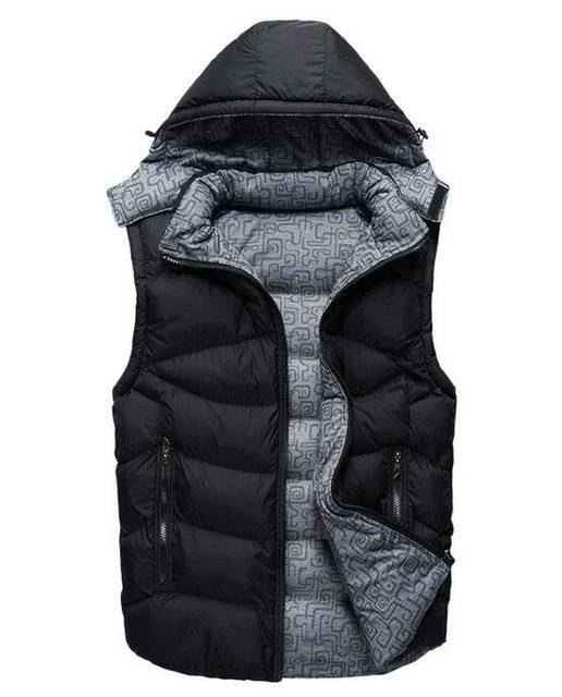 Wholesale Autumn and winter sleeveless jacket thickening down cotton vest men's jacket Outerwear &Coats