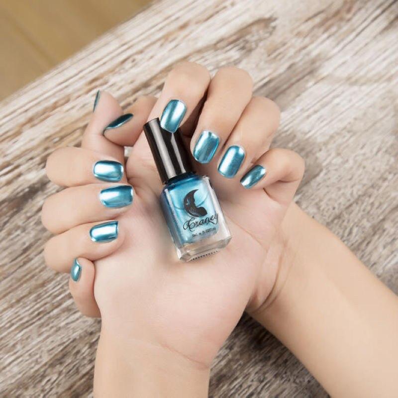 6 ml plata espejo efecto metal Esmaltes de uñas barniz Esmaltes de ...