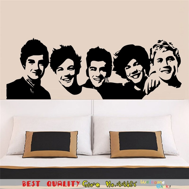 Forever The Beatles Wall Sticker Rock Roll Music Fans Room ...