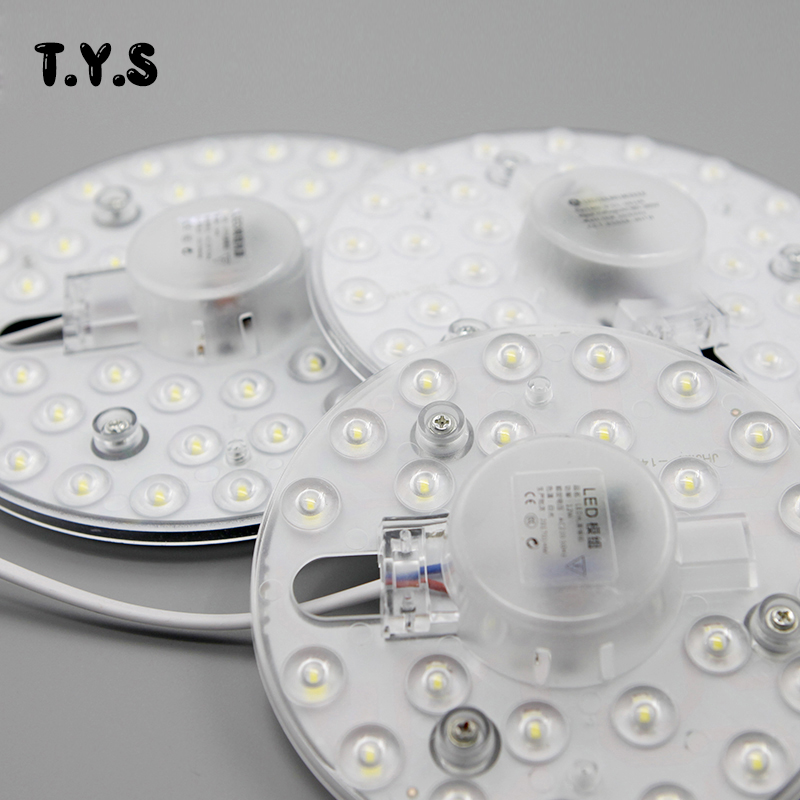 Lâmpadas Led e Tubos w 24 w smd 2835 Comprimento : 18*18*3 cm