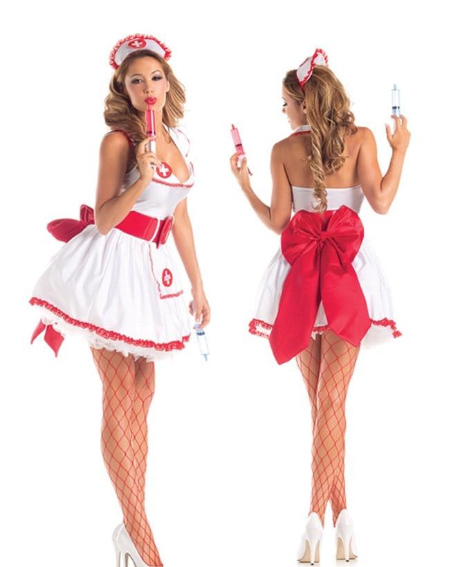 Red Nurse Costume