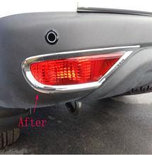 2 шт хромированные наклейки на автомобильные лампы для mitsubishi