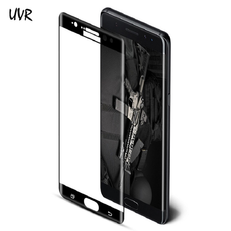 UVR For Samsung Galaxy Note FE Fan Edition 3D Curved Full Coverage Tempered Glass for Samsung Note 7 Note7 Screen Protector Film