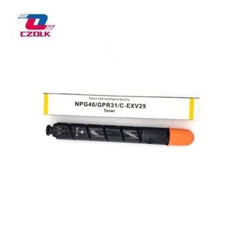 Used Original GPR-31 NPG-46 C-EXV29 color toner cartridge For Canon IRC5030 5035 5235 5240 copier 1pc bk=550g cmy=350g