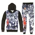 Hip hop sudadera 3d y corredores 3d sudaderas impreso Jordan dunk juego de los hombres/de las mujeres ropa de moda de La Calle traje de Envío Libre