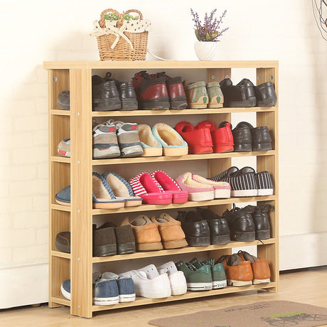 Shoe Cabinets Shoe Rack Living Room Furniture Home Furniture Assembly Solid  Wood Shoes Rack 80*24*90 Cm Whole Sale New 2017 Hot