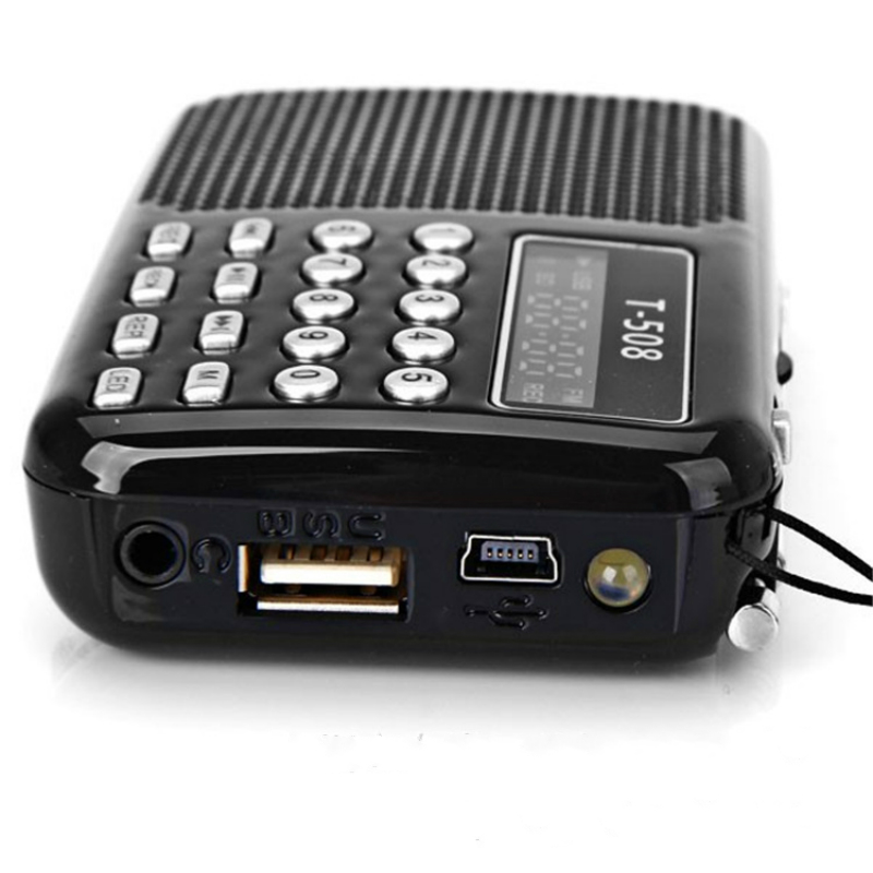 Tragbares Audio & Video Zielsetzung Elistooop Mini Tragbare Dual Band Wiederaufladbare Digital Led Display Panel Stereo Fm Radio Lautsprecher Usb Tf Für Iphone Tablet Pc