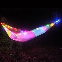 LED Festival Hammock Hammock para o Dia ea noite 260*140 cm|Redes| |  -