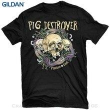 2017 Short Sleeve Cotton T Shirts Man Clothing Pig Destroyer - Phantom Limb Shirt