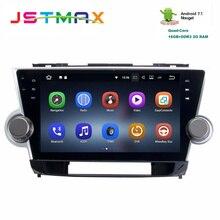 Car Android 7.1 GPS Navi for Toyota Highlander 2009 – 2012 autoradio navigation head unit multimedia 2Gb+16Gb RDS HDMI output