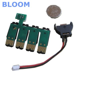 T1711 ciss permanent chip For EPSON Expression Home XP-33 XP-103 XP-203 XP-207 XP-303 XP-306 XP-403 XP-406 XP-313 XP-413 printer