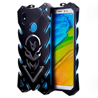 Luxury Aluminum Metal Case Armor For Xiaomi Redmi Note 5 Note5 Phone Shockproof Frame Cover Case