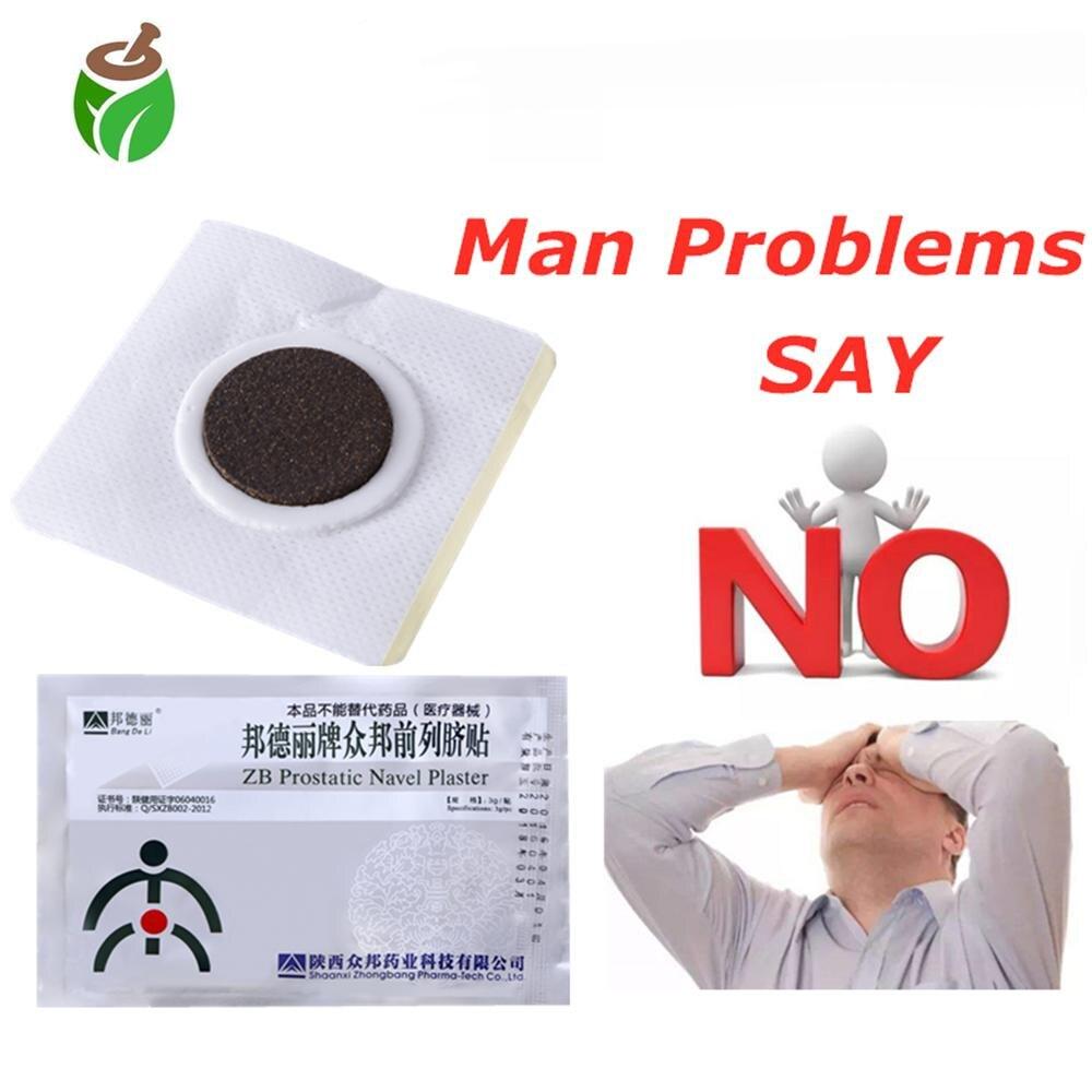 50 stuks ZB Prostaat Navel Gips Medische Patches Behandeling Prostaat Massage Prostatitis Geneeskunde Mannelijke dopheidezorg-in Lappen van Schoonheid op  Groep 1