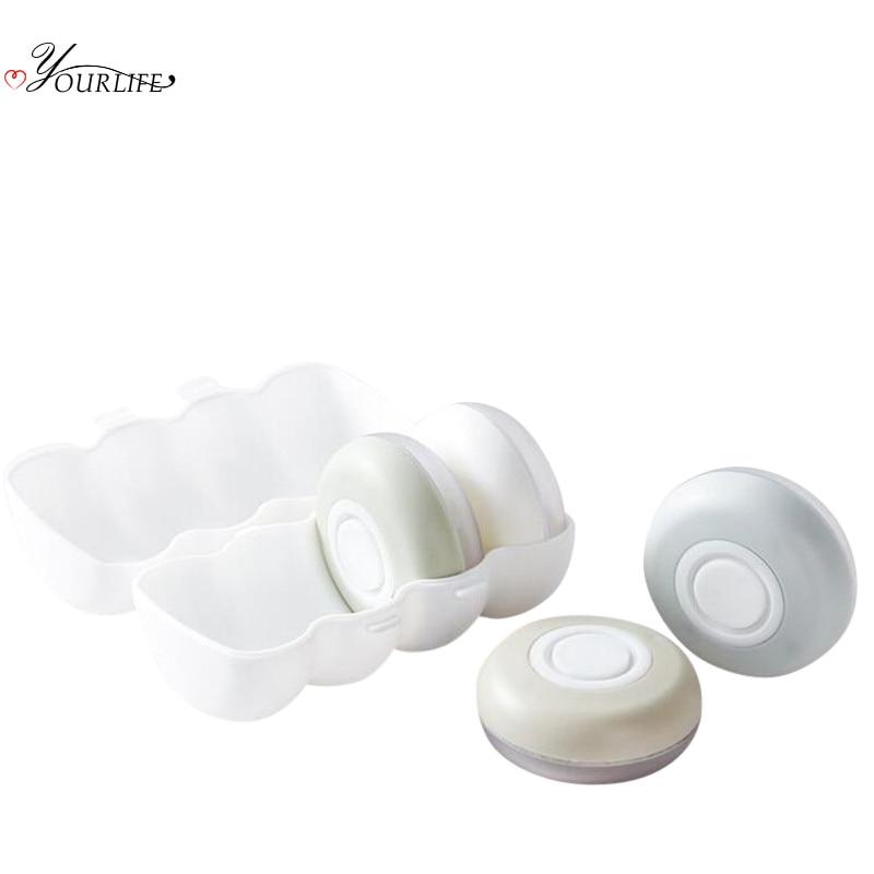 OYOURLIFE 4pcs/set Portable Soap Dispenser Outdoor Travel Cosmetics Packing Bottle Hand Sanitizer Shampoo Body Wash Dispenser