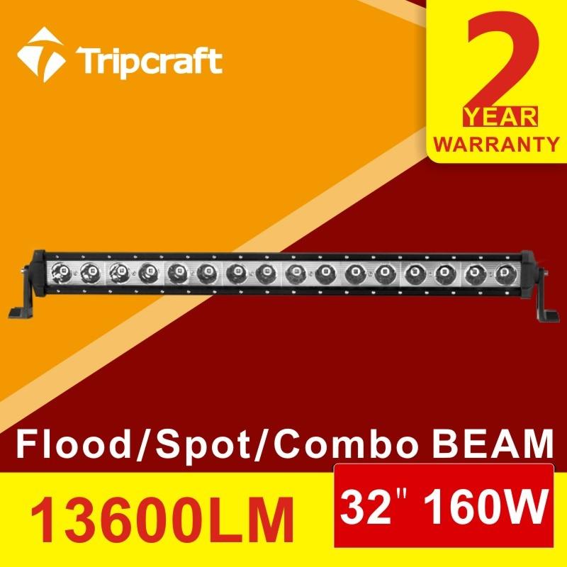 32 INCH 160W SUPER SLIM LED WORK LIGHT BAR SPOT/FLOOD/COMBO BEAM FOR OFF ROAD 4x4 TRUCK DRIVING LIGHT