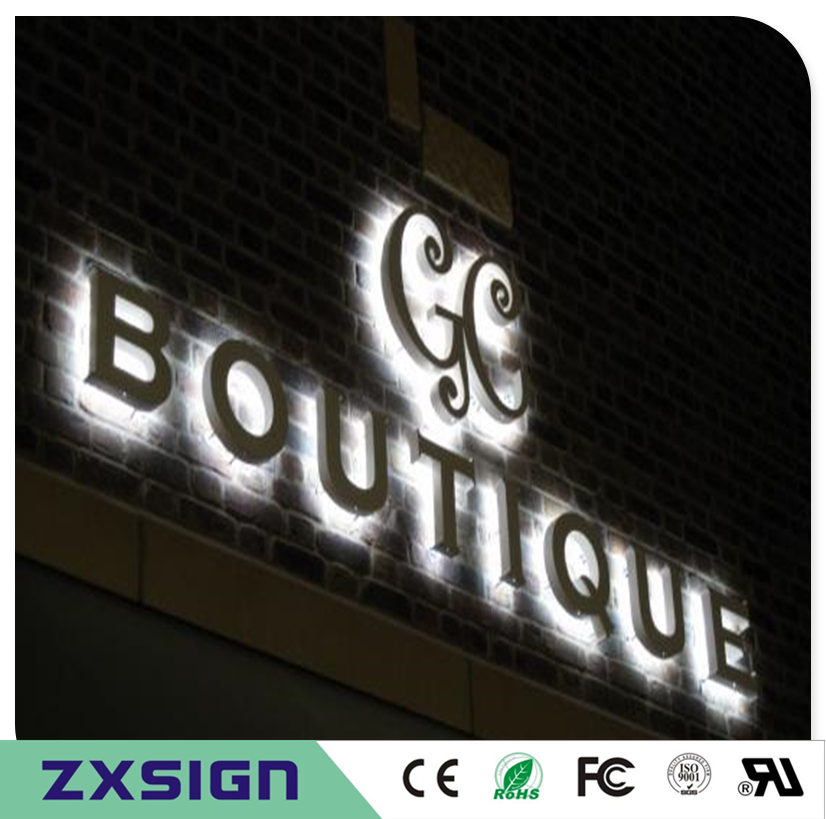 Factory Outlet  Outdoor Stainless Steel LED Illuminated Letters
