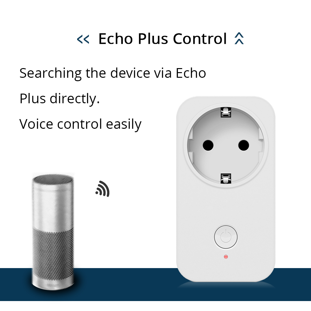 Eu Outlet Samrtthings Phone App Remote Echo Plus Control