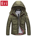 2017 Winter Men's Down Jackets Slim Fit White Duck Down Padded Coats Men's Down Parkas Brand Fashion Jacket Coat X335