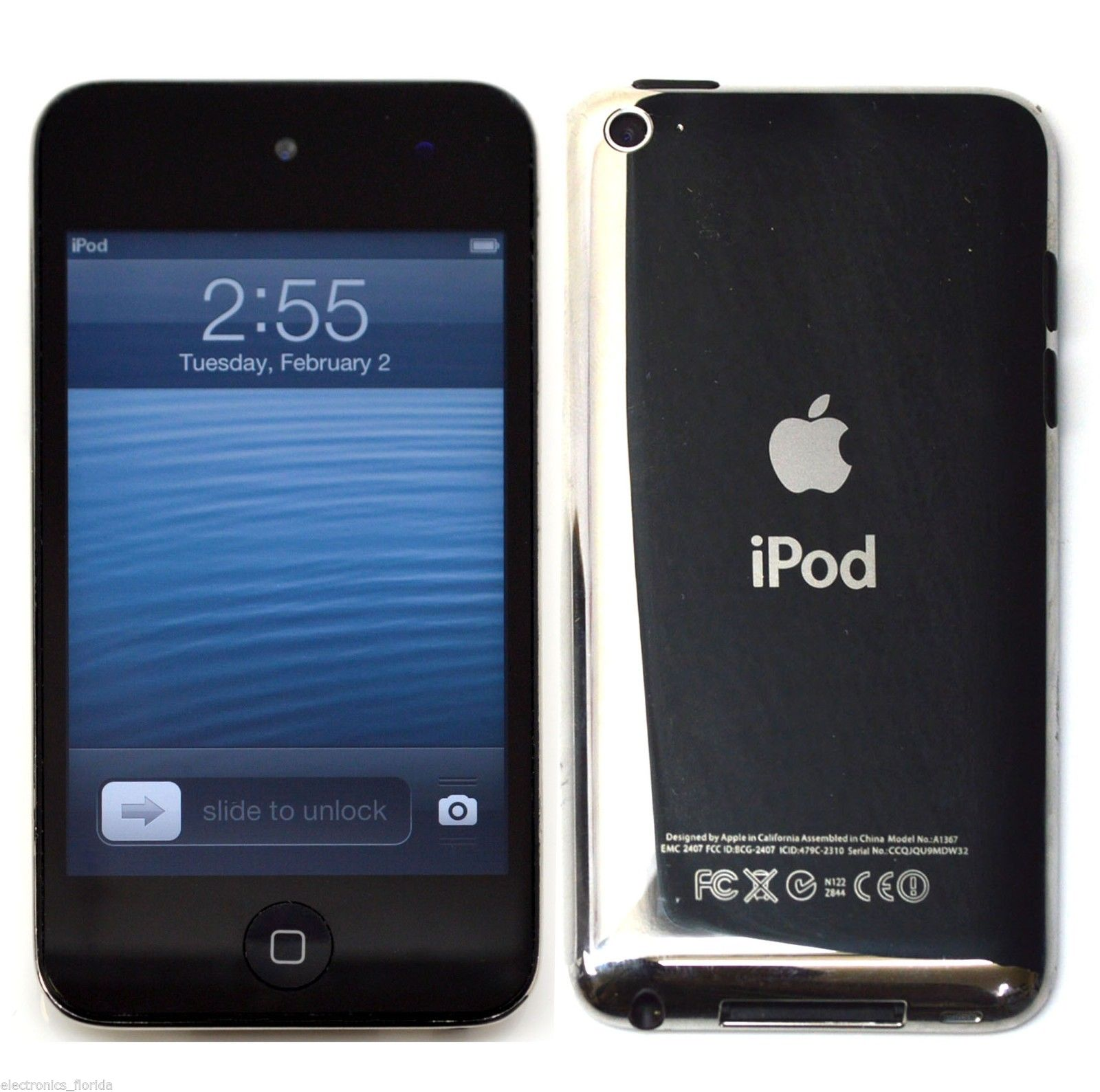 New For Apple iPod touch 4th Generation Black 32GB MP4/5 ...