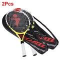 2 шт.  100% новая тренировочная ракетка высокого качества для детей  детские теннисные ракетки с сумкой для переноски  хит продаж