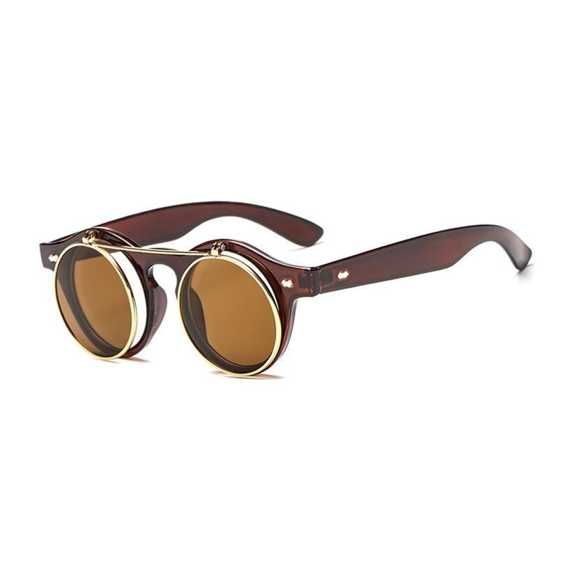 Personality flip Sunglasses Women and men Classic  UV400