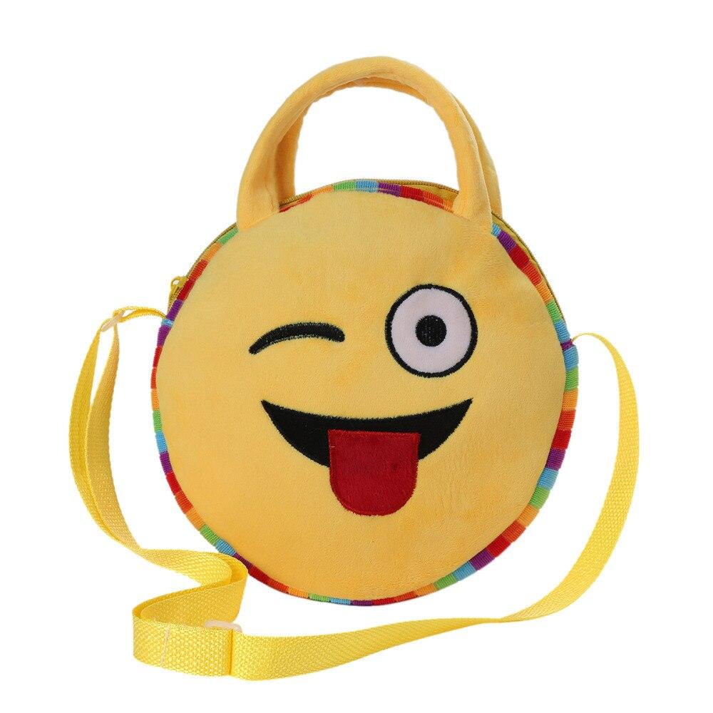 emoticon bolsa de ombro bolsa Abacamento / Decoração : Nenhum