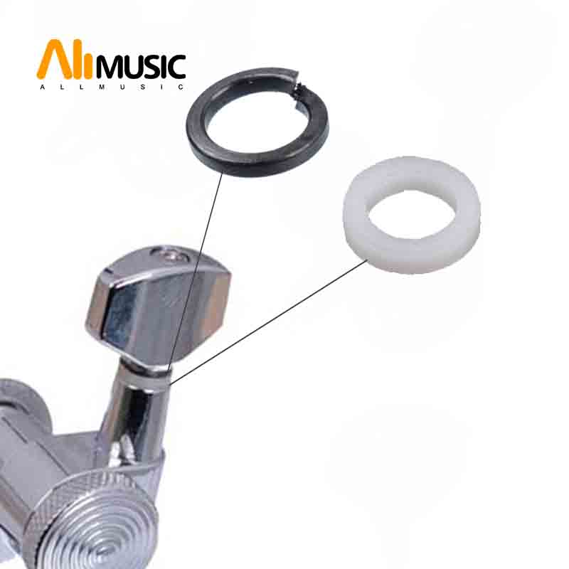 buy mounting ferrules gasket washers for guitar tuning peg tuners machine heads. Black Bedroom Furniture Sets. Home Design Ideas