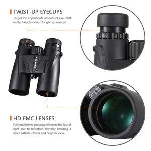 Image 3 - Hunting Binoculars 8x42 Eyeskey Binoculars Waterproof Telescope Bak4 Prism Camping Hunting Scopes with Neck Strap Non slip