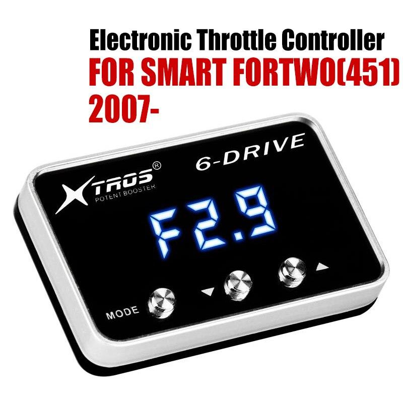 Otomobiller ve Motosikletler'ten Araba Elektronik Gaz Kelebeği Kontrol Ünitesi'de Araba elektronik gaz kontrol hızlandırıcı güçlü güçlendirici akıllı FORTWO için (451) 2007 2019 tuning parçaları aksesuar title=