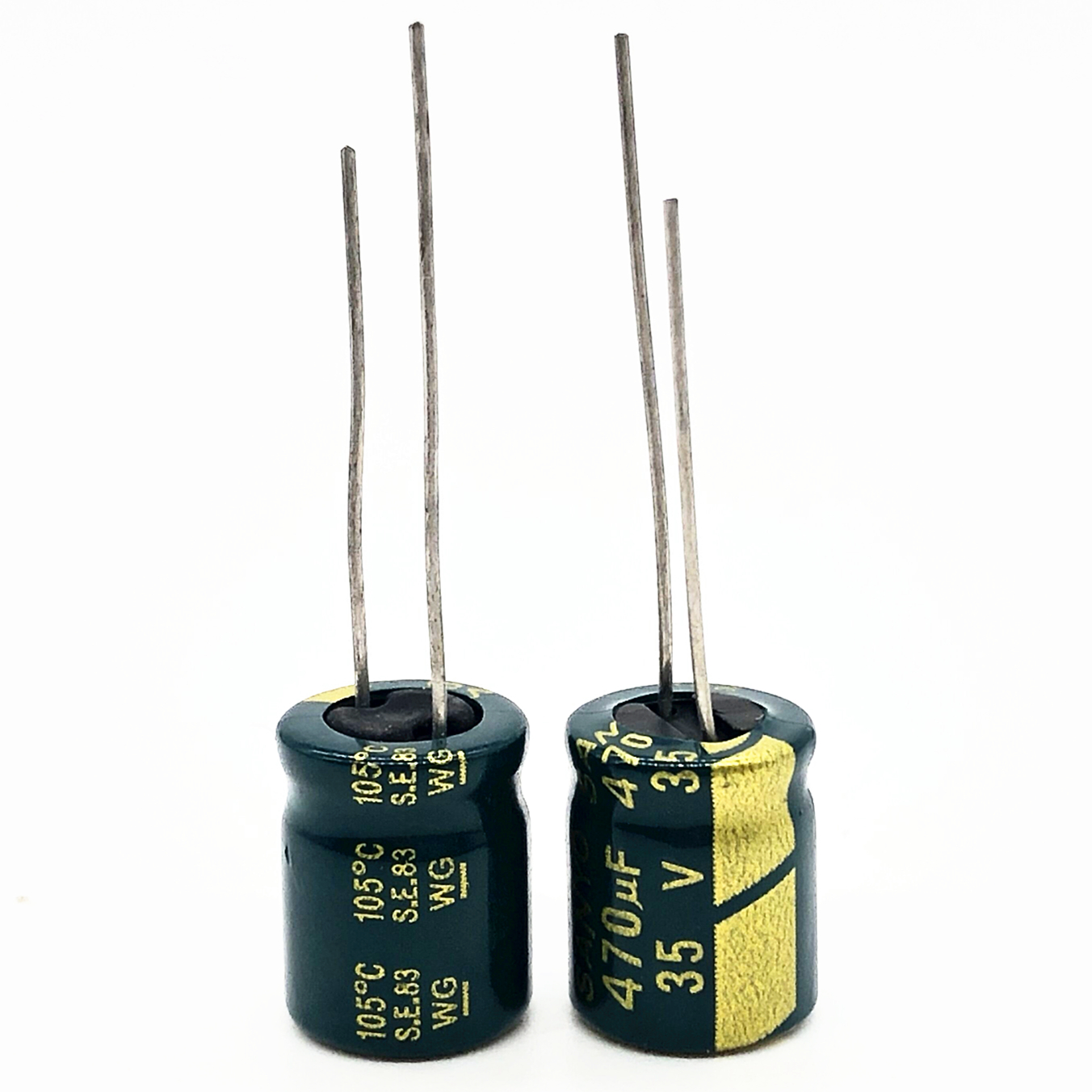 20pcs 35V 470UF 8*12MM  High Frequency Low Impedance Aluminum Electrolytic Capacitor 470uf 35v Only Good Quality