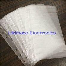 100 قطعة/الوحدة صفحات فارغة للمكونات عينة كتاب 0402/0603/0805/1206 سمد المكونات الإلكترونية متنوعة