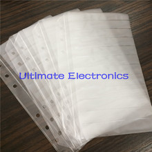 100pcs/lot Empty pages For components sample book 0402/0603/0805/1206 SMD Electronic Components assorted