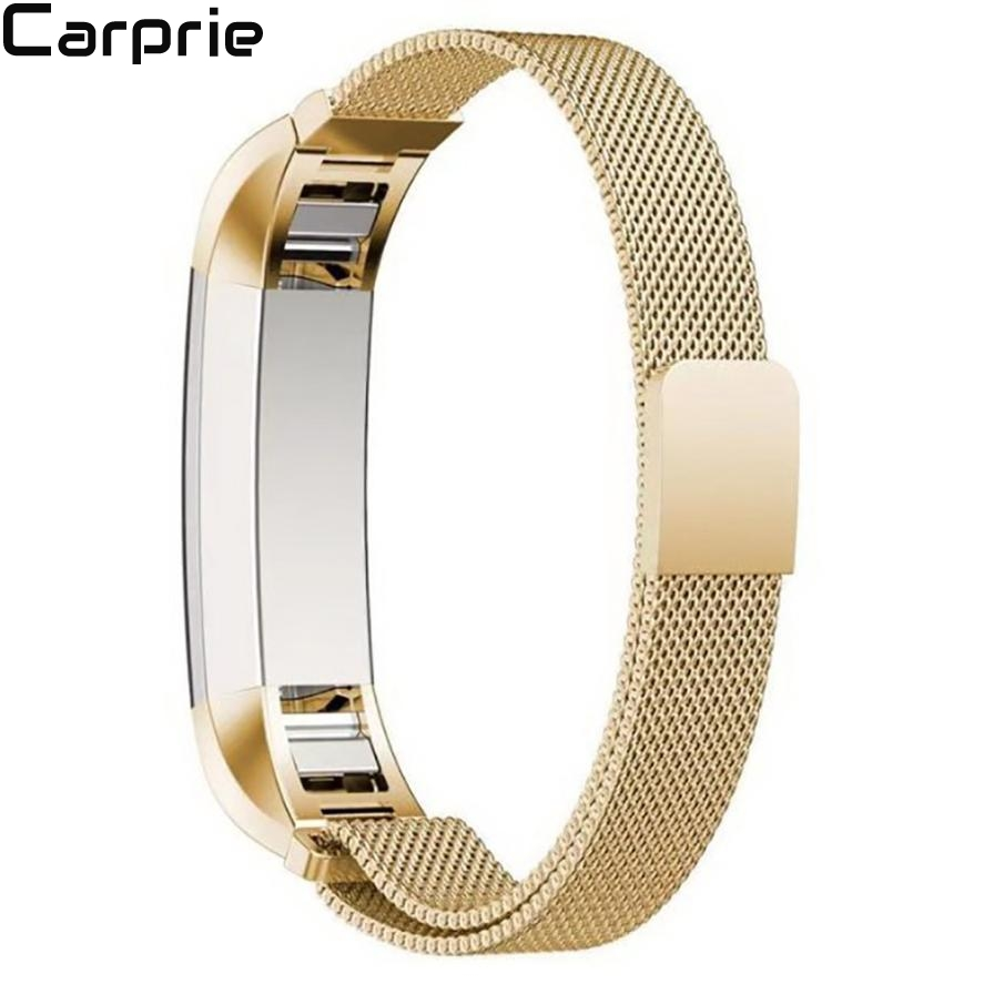Best Price ! 3 colors Milanese Magnetic Loop Stainless Steel Smart Watch Band + Connector For Fitbit Alta drop shipping 2may4