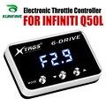 Auto Elektronische Drossel Controller Racing Gaspedal Potent Booster Für INFINITI Q50L Tuning Teile Zubehör