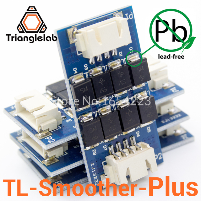 US $13 26 15% OFF|Trianglelab 4 pieces/pack TL smoother PLUS addon module  for 3D pinter motor drivers motor Driver Terminator reprap mk8 i3 -in 3D
