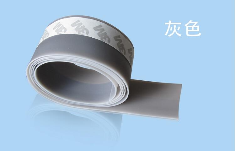 35 мм 5 цветов оконная дверь силиконовый резиновый уплотнитель уплотненительная лента для дверей и окон уплотнение