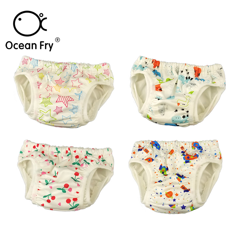 Double-layer Leakproof Baby Swim Diapers For Infant Toddler Swimming Pool Waterproof Adjustable Waist Swimwear Pants Cloth Nappy Goods Of Every Description Are Available