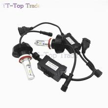 2PCS 50W 8000LM 2016 Plug&Play Led H11 6s Car Headlight Bulb For Philips lamp beads Cold White 6000K-6200K HI/LO Conversion Kit