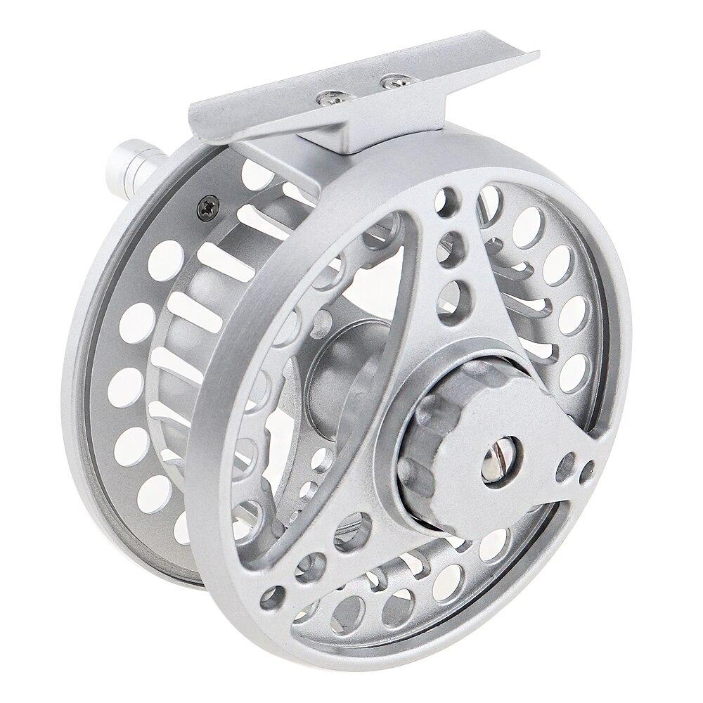liga de aluminio carretel esquerda direita intercambiaveis pesca com mosca carretel 7 8 grande anterior pesca