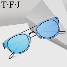 Cat Eye Polarized Sunglasses Men Women Metal Frame Design Eyewear Accessories Goggles Vintage Sexy Shades Driving Sun Glasses