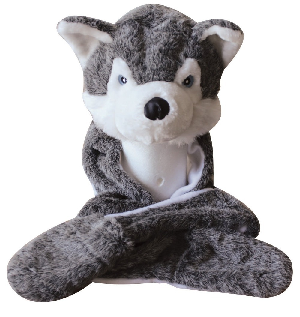 Image result for Long Gray Wolf cap