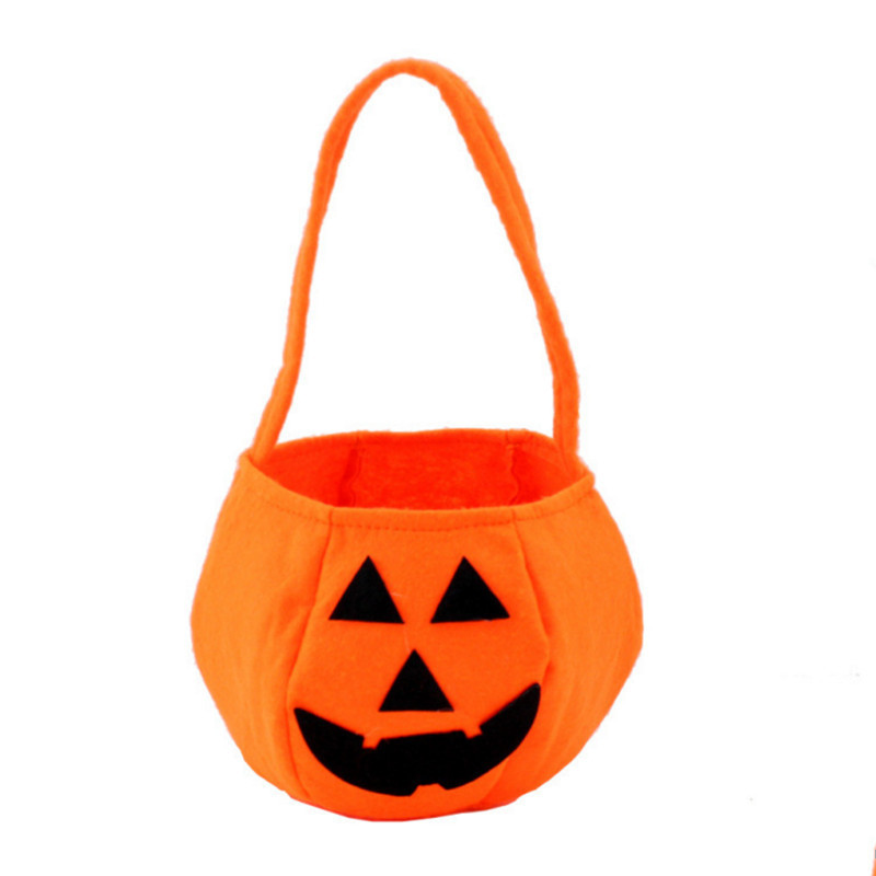 halloween gift bags pumpkin candy gift bag stereoscopic hand bag halloween decor holiday home party supplies