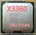 Original Intel Xeon X3360 Quad Core 2.83GHz LGA 775 95W 12M Cache Server CPU piece  (working 100% Free Shipping)
