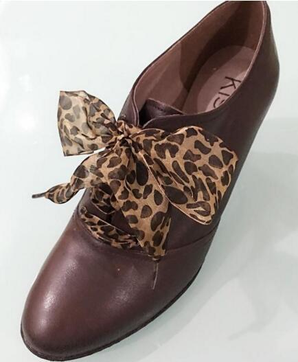 Unter Der Voraussetzung Neue Ankunft Sexy Leoparden Spitze Schnürsenkel Charming Schuh Dekoration Drei Größe Ein Paar Kostenloser Versand Gut Verkaufen Auf Der Ganzen Welt